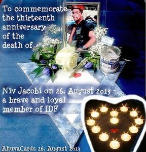 For Niv zum 26. August 2013