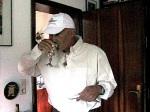 Niv Jacobi Niv's Vater am Erew Shabbat in meinem Haus in Deutschland 2