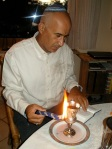 Niv's Vater Hafdalah bei Freunden in Deutschland