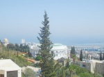 Haifa April 2014 Blick aus dem Fenster zoom