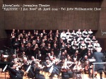 Yerushalayim 28.4. 2014  Concert KADDISH - I Am Here - choir