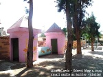 Sderot 1. Mai 2014 a small castle as shelter