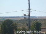 Sderot 1. Mai 2014 - view to Gaza City zoom