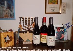 Israel - Wein vom Golan und aus Efrat copy