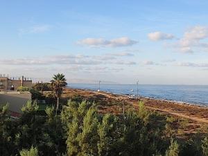 Blick aus meinem Fenster in Richtung Haifa