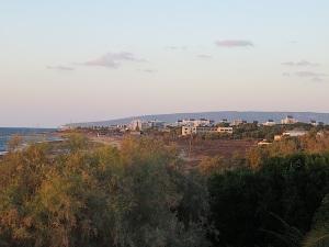 Aus meinem Fenster - Blick nach Nahariyya und Rosh Hanikra