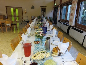 Erew Shabbat in Shavei Zion am 25.9.2015