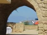 Blick von Achziv nach Rosh Hanikra