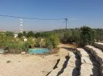 Blick nach Ari'el-Stadt auf dem Berg