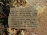 Josua erklärt die Steine im Jordan - Josua 4, 21-22